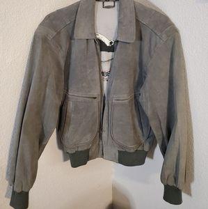 Vintage Members Only suede Avatior jacket 38